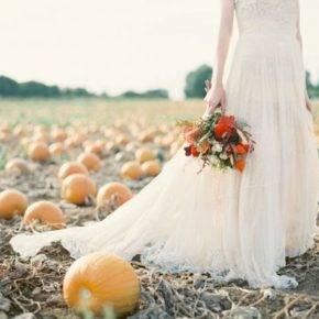 осенняя свадьба фото 97