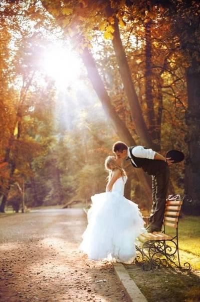 осенняя свадьба фото 99