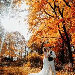 осенняя свадьба фото 100