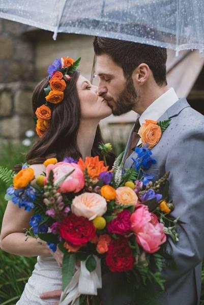 осенняя свадьба фото 200