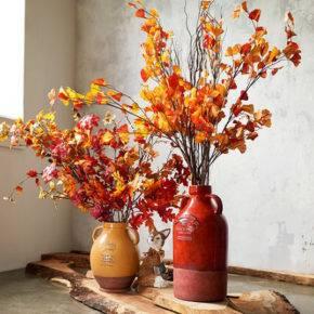 поделки из листьев фото 022