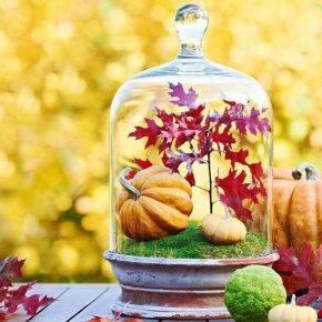 поделки из листьев фото 070