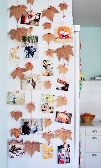 поделки из листьев фото 113