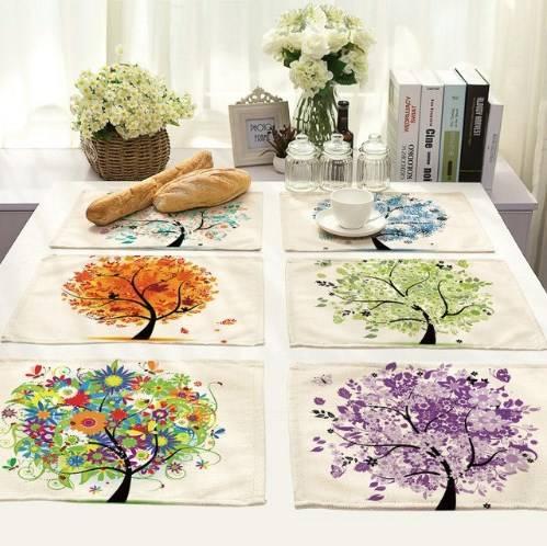 салфетки для стола на тему осень фото 2
