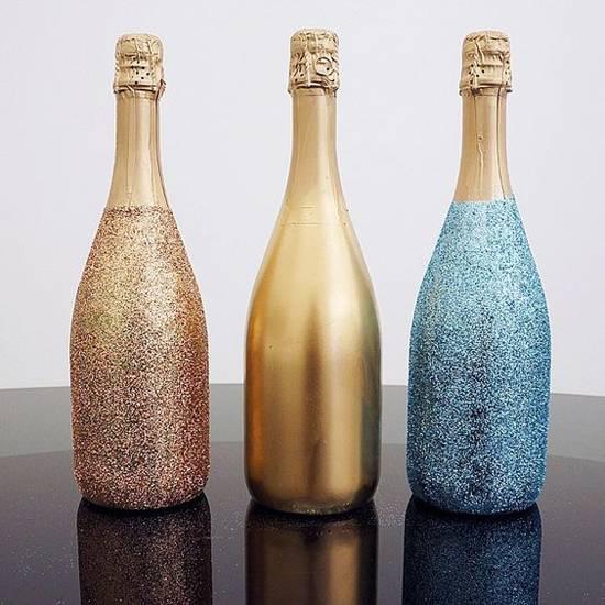 Декор бутылок ★ Как украсить бутылку своими руками