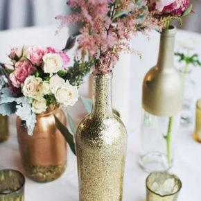 декор бутылок фото 011