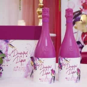 декор бутылок фото 013
