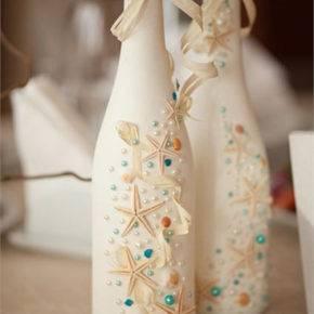 декор бутылок фото 024