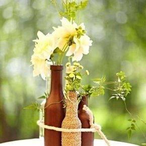 декор бутылок фото 060