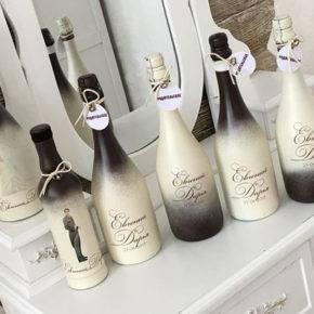декор бутылок фото 067