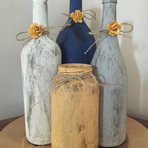 декор бутылок фото 075