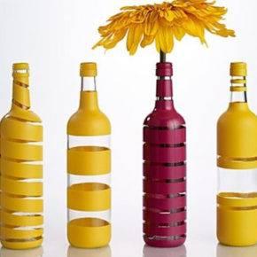 декор бутылок фото 076