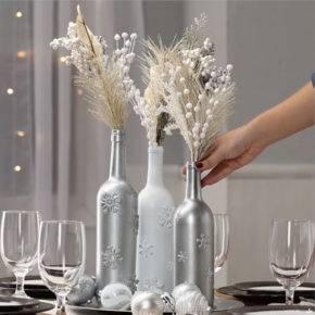 декор бутылок фото 080