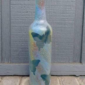 декор бутылок фото 081