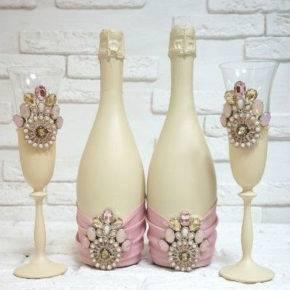 декор бутылок фото 090