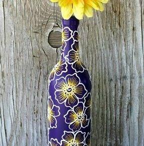 декор бутылок фото 093