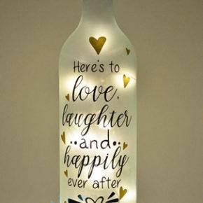декор бутылок фото 094