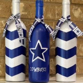 декор бутылок фото 102