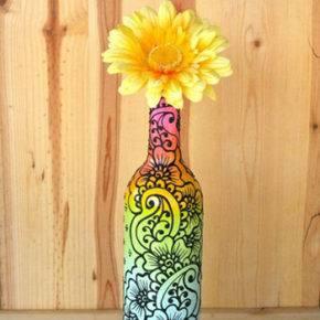 декор бутылок фото 103