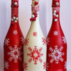 декор бутылок фото 104
