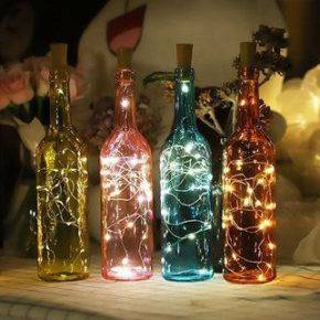 декор бутылок фото 105