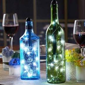декор бутылок фото 106
