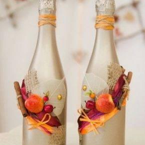 декор бутылок фото 112