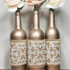 декор бутылок фото 114
