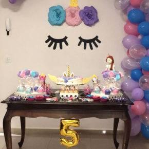 детский день рождения 5 лет единороги фото 177