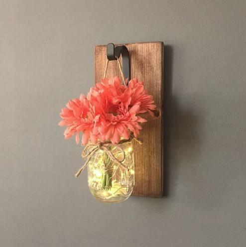гирлянда для банки вазы фото 1