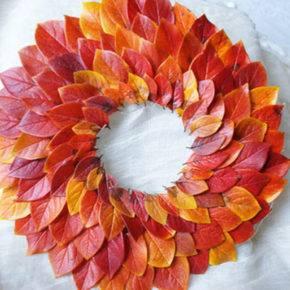 Осенние поделки из природного материала фото 01