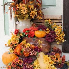 Осенние поделки из природного материала фото 03