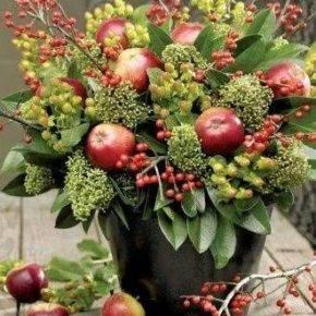 Осенние поделки из природного материала фото 05