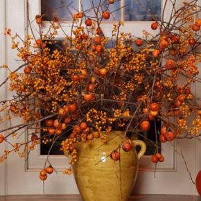 Осенние поделки из природного материала фото 08