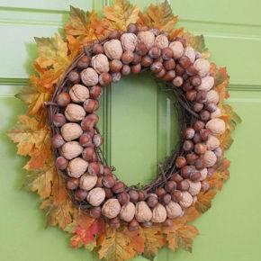Осенние поделки из природного материала фото 12