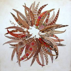 Осенние поделки из природного материала фото 22