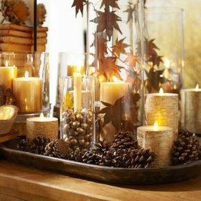 Осенние поделки из природного материала фото 26