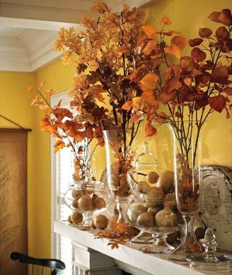 Осенние поделки из природного материала фото 36