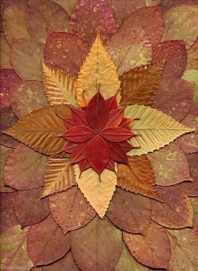 Осенние поделки из природного материала фото 40