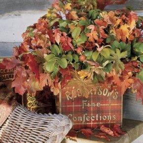 Осенние поделки из природного материала фото 49