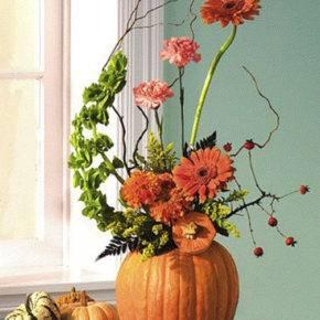 Осенние поделки из природного материала фото 51