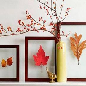 Осенние поделки из природного материала фото 57
