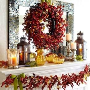 Осенние поделки из природного материала фото 65