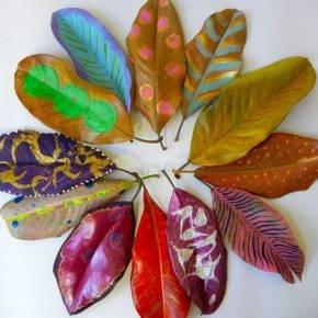Осенние поделки из природного материала фото 68