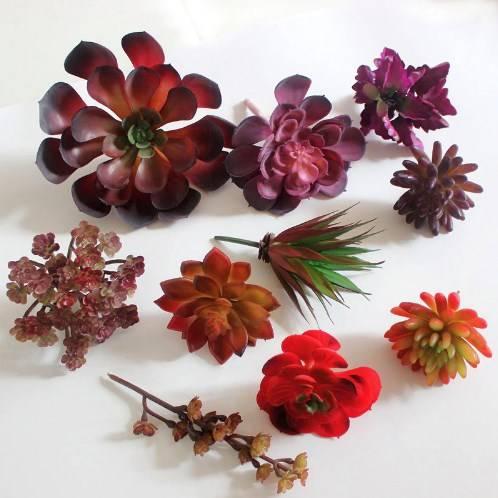 искусственные цветы фото 6