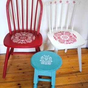 как обновить старые стулья фото 038