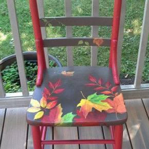 как обновить старые стулья фото 039