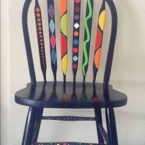 как обновить старые стулья фото 040