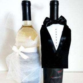Свадебные бутылки фото 01