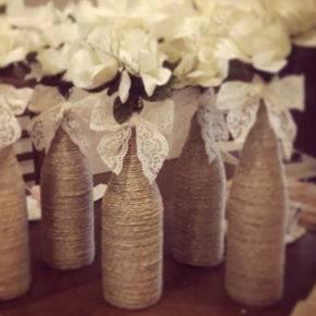 Свадебные бутылки фото 03